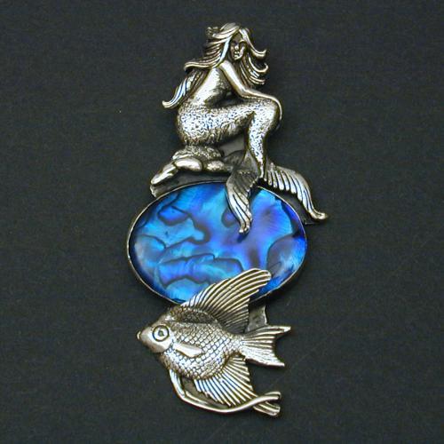 Swimming Pool Jewelry : Shining moon jewelry gallery mermaid pool pendant
