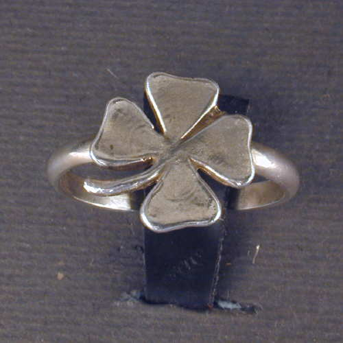 rings left check clover free men ring out mens this silver ship minutes s